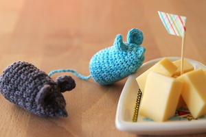 Cheeky Mice Crochet Pattern