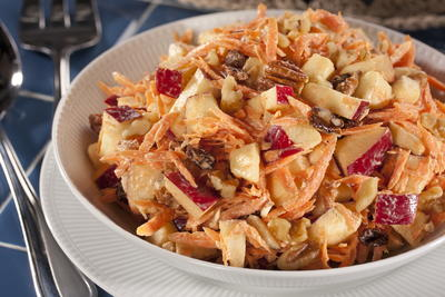 EDR Carrot Raisin Salad with Apples