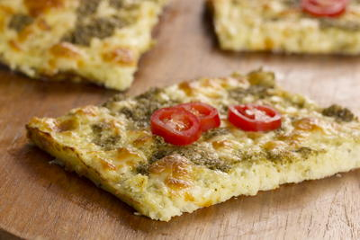EDR Cauliflower Flatbread