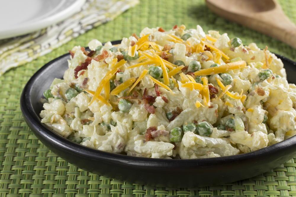 Cauliflower Salad Everydaydiabeticrecipes Com