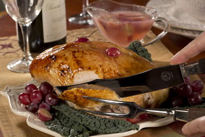 EDR Champagne Roasted Turkey