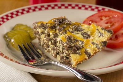 EDR Cheeseburger Pie