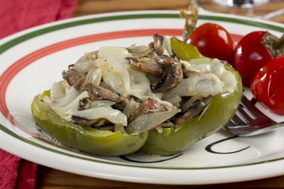 EDR Cheesesteak Stuffed Peppers