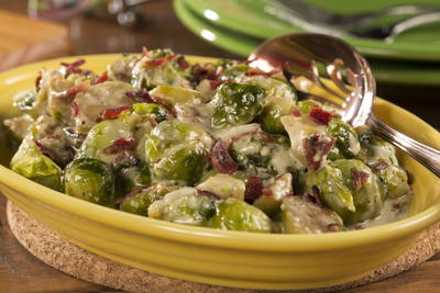 EDR Cheesy Brussels Sprouts