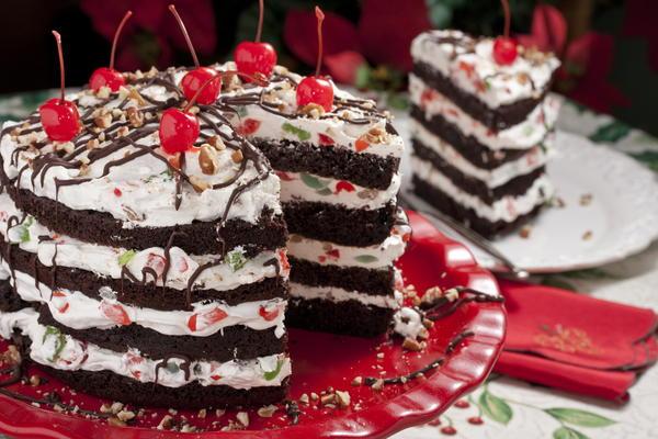 Xmas Ice Cream Cake Recipes