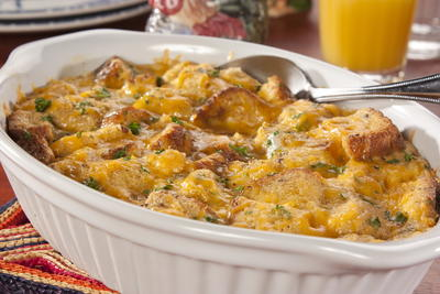 EDR Cheesy Egg Casserole