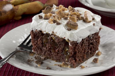 Tempting Chocolate Poke Cake