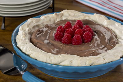 EDR Chocolate Almond Pavlova
