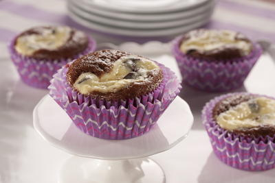 EDR Chocolate Chip Cheesecake Cupcakes
