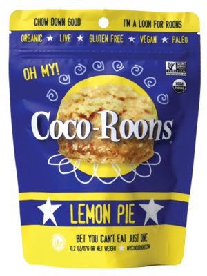 Wonderfully Raw Lemon Pie Coco-Roons