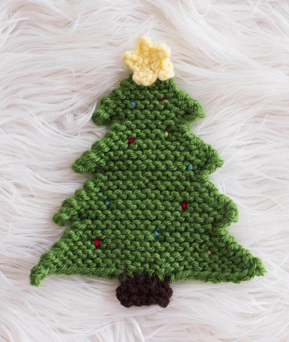 Christmas Tree Pot Holder Allfreeknitting Com