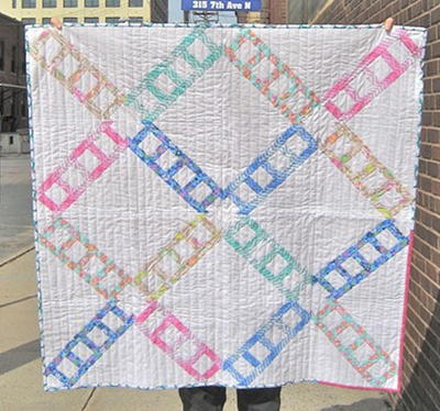 Ladder Lattice Quilt