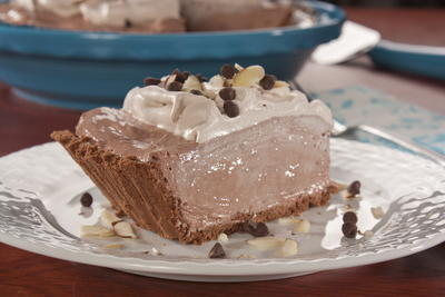 EDR Cocoa Loco Cream Cheese Pie