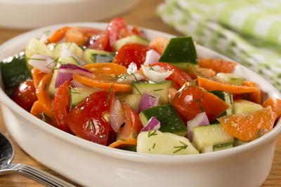 EDR Cool Veggie Salad