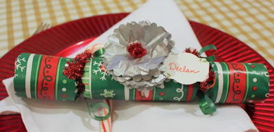 DIY Christmas Party Popper