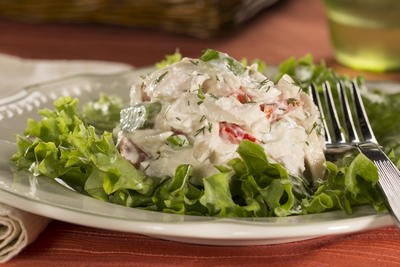 EDR Creamy Dill Chicken Salad