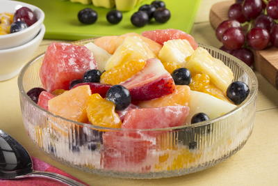 EDR Creamy Glazed Fruit Salad