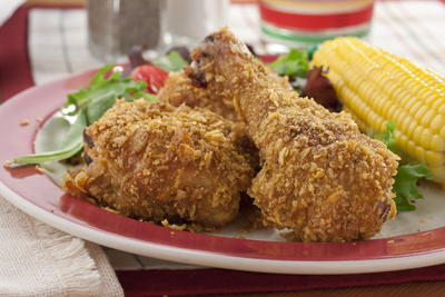 EDR Crispy Oven Fried Chicken