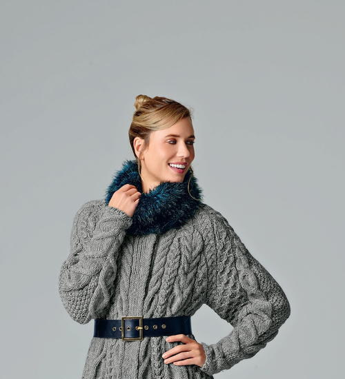 Fabulously Fluffy Snood