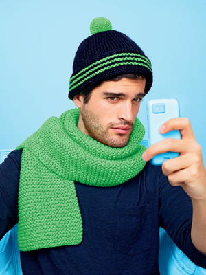 Men's Knit Pom Hat