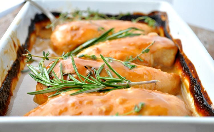 No-Work Baked Chicken | FaveHealthyRecipes.com