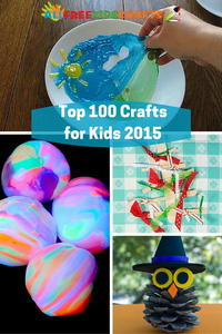 Top 100 Easy Craft Ideas for Kids in 2015
