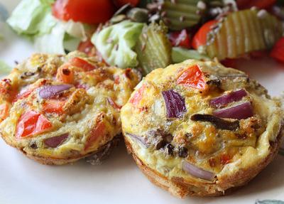 Breakfast Omelet Muffins Favehealthyrecipes Com