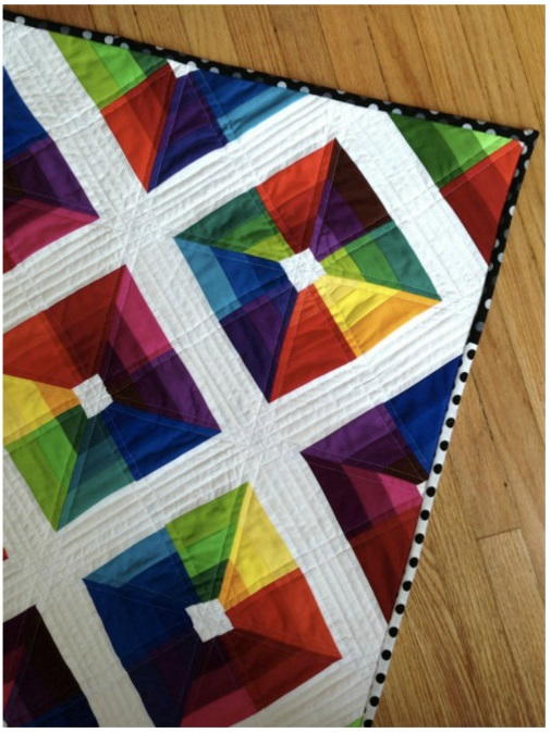 Kite Flight Rainbow Quilt