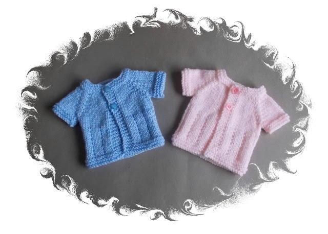 Preemie Baby Cardigans Allfreeknitting Com