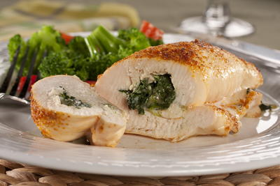 EDR Stuffed Chicken Rolls