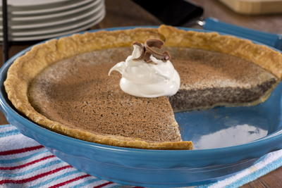 EDR Chocolate Cheese Pie