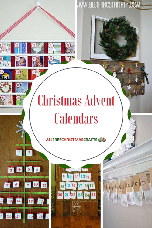 38 Festive and Fun Christmas Advent Calendars