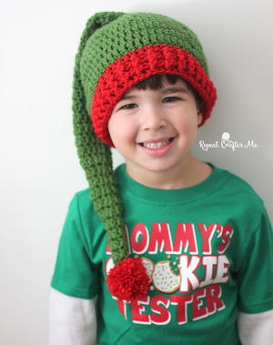 Jolly Elf Crochet Hat Pattern