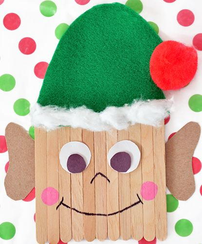 Popsicle Stick Elf