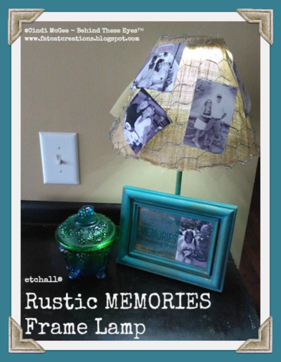 Wayback When Memories Lamp