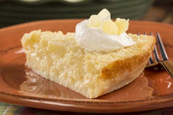 EDR Crustless Pineapple Pie