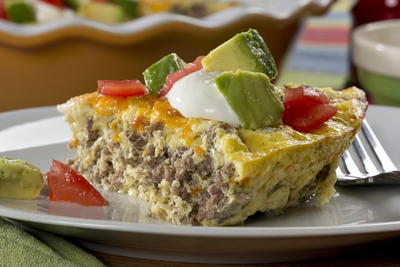 EDR Crustless Taco Pie