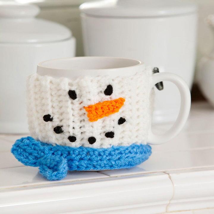 Snowman Mug Hug FaveCrafts
