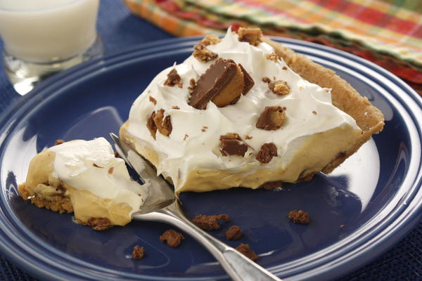EDR Decadent Peanut Butter Pudding Pie