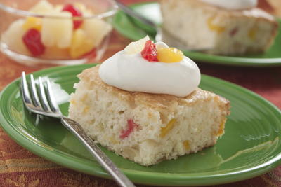 EDR Easy Peach Cake
