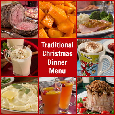 Traditional Christmas Dinner Menu.Traditional Christmas Dinner Menu Mrfood Com