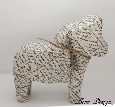 Darling DIY Dala Horse
