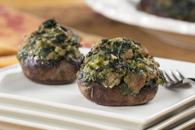 Country Club Stuffed Mushrooms