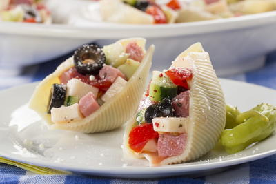 Antipasto Stuffed Shells