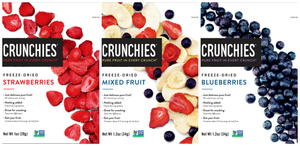 Crunchies Freeze-Dried Fruit