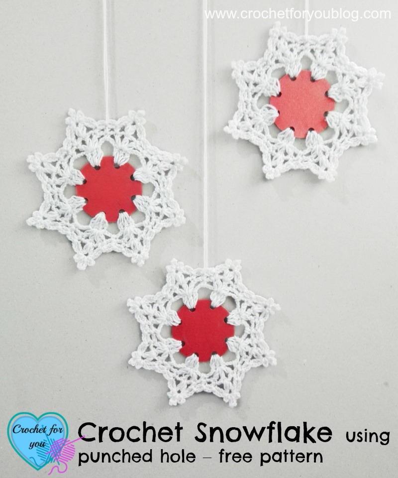 Crochet Snowflake Patterns For Beginners : Wonderland Crochet Snowflake Pattern FaveCrafts.com