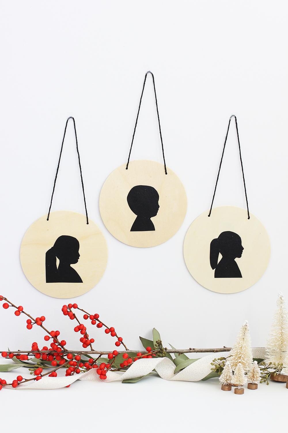 Handmade Silhouette Ornament Favecrafts Com