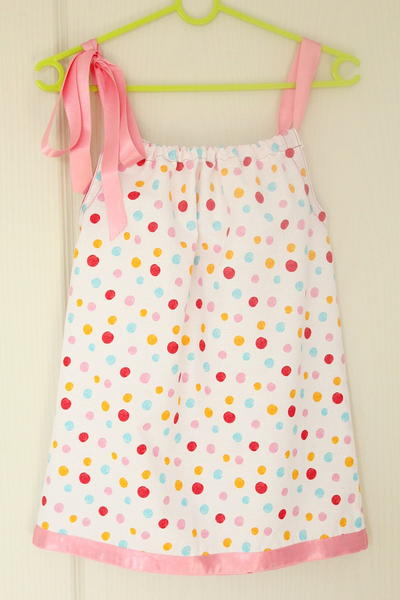 Little Pillowcase Dress Sewing Pattern