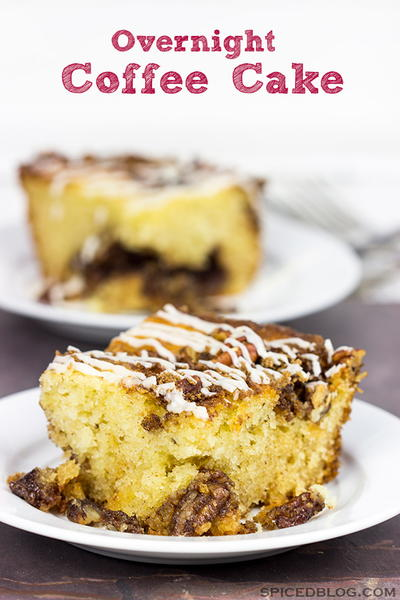 Family Favorite Overnight Coffee Cake