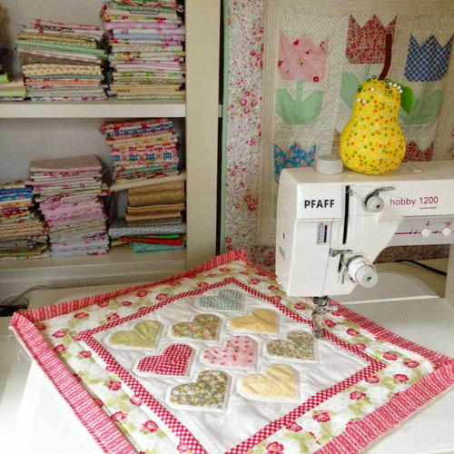 Sweetheart Mini Quilt Pattern